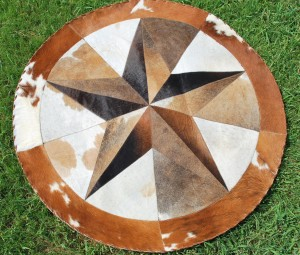 Cowhide Star 4 Ft light 3-D