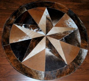 Cowhide Star 6 FT Dark