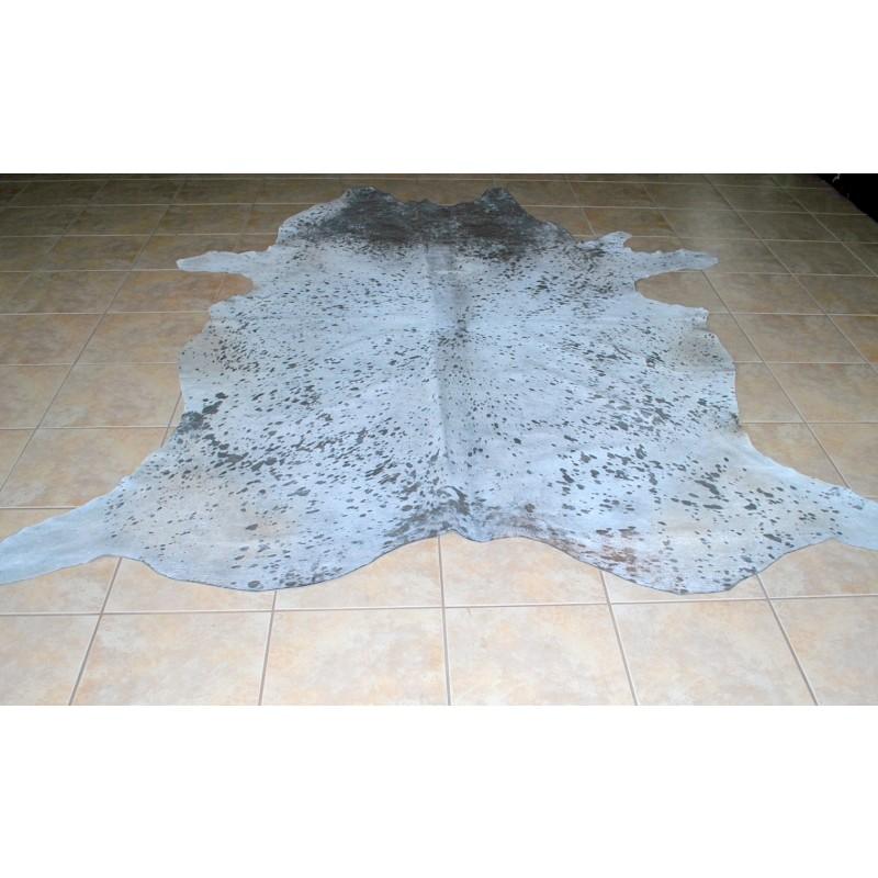 ad9ba3af9a0 Cowhide Acid Silver Wash Skin Rug
