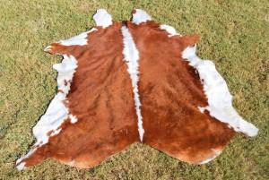 Cowhide Hereford Red