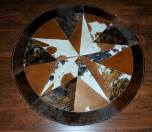 Cowhide Star 5 Feet