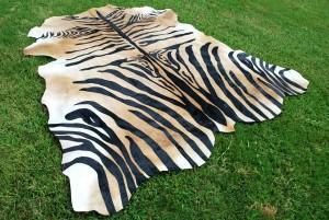 Zebra Light Brown Stencil