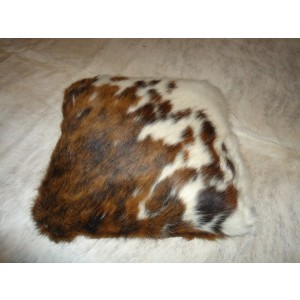 Cowhide Rug Pillow Double Side Cowhide