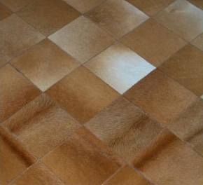 Cowhide Area Diamond Patchwork