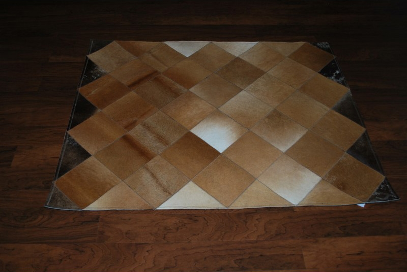 What Are Patchwork Cowhide Rugs